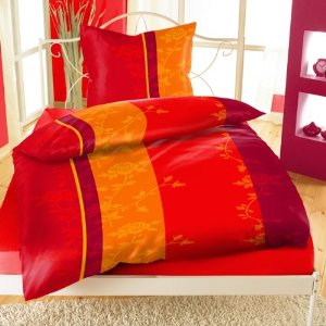 bettw sche fleece mikrofaser thermofleece 135x200 155x220 braun rot brombeer ebay. Black Bedroom Furniture Sets. Home Design Ideas