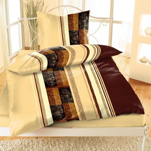4 tlg mikrofaser thermofleece bettw sche 135x200 spannlaken kissen 80x80 40x80 ebay. Black Bedroom Furniture Sets. Home Design Ideas