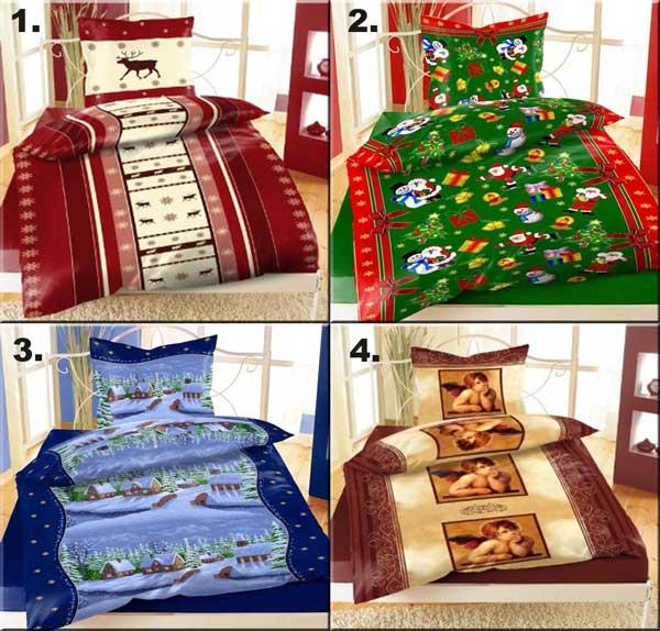 4 weihnachten thermofleece bettw sche fleece rentier. Black Bedroom Furniture Sets. Home Design Ideas