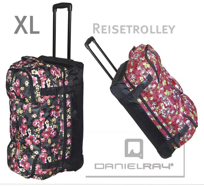 reisetrolley daniel ray trolley reisetasche koffer xl rollentasche neu ebay. Black Bedroom Furniture Sets. Home Design Ideas