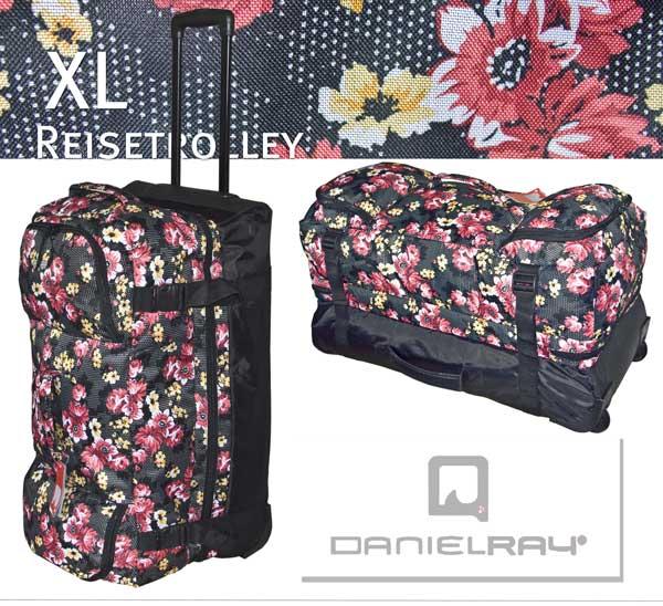 reisetrolley daniel ray trolley reisetasche koffer xl rollentasche neu ebay. Black Bedroom Furniture Sets. Home Design Ideas