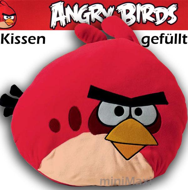 angry birds kissen kuschelkissen pl schkissen sofakissen. Black Bedroom Furniture Sets. Home Design Ideas